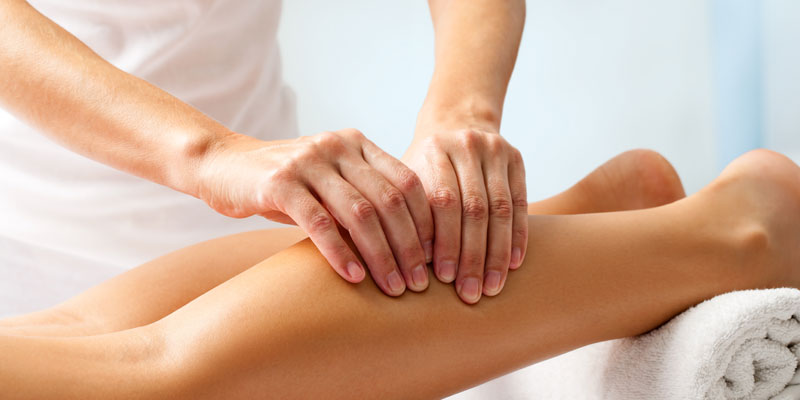 image of leg massage