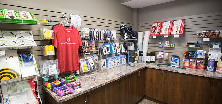 shot of retail store