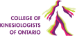 logo for College of Kinesiologists of Ontario